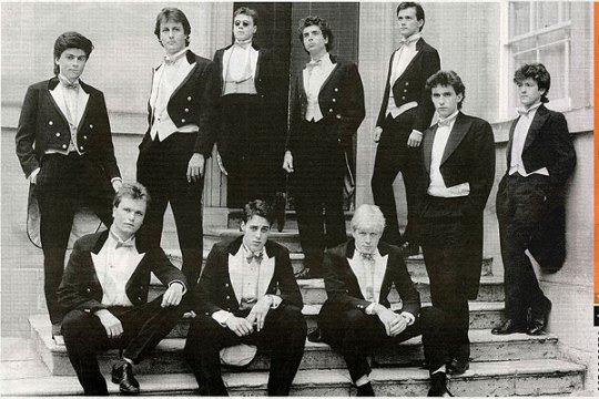 David Cameron Boris Johnson Bullingdon Club Oxford