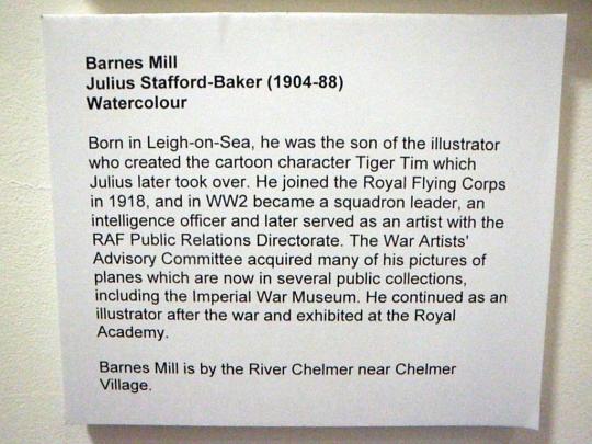 Julius Stafford-Baker Barnes Mill Chelmsford